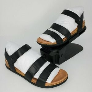 New Vionic Colleen Leather Adjustable Strap Sandal